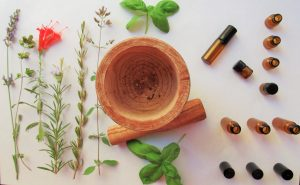 Nature's own medicine, and making essential oils and teas